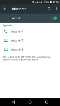 Acer Liquid Z630 - Bluetooth - connexion Bluetooth - Étape 8