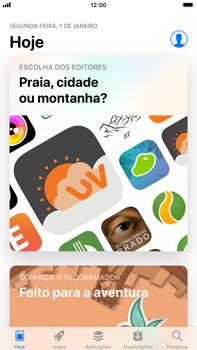 Apple iPhone 8 Plus - iOS 12 - Aplicações - Como pesquisar e instalar aplicações -  4