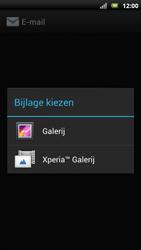 Sony Ericsson Xperia Neo met OS 4 ICS - E-mail - Hoe te versturen - Stap 13