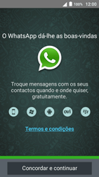 Alcatel Pop 3 - Aplicações - Como configurar o WhatsApp -  5