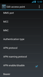 Acer Liquid Z5 - MMS - Manual configuration - Step 14