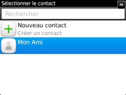BlackBerry 9720 - Contact, Appels, SMS/MMS - Envoyer un SMS - Étape 7