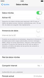 Apple iPhone 6 Plus iOS 8 - Mensajería - Configurar el equipo para mensajes multimedia - Paso 5