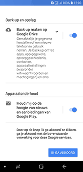 Samsung galaxy-j6-sm-j600fn-ds - Applicaties - Account aanmaken - Stap 17