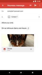 Google Pixel 2 - E-mail - Envoi d