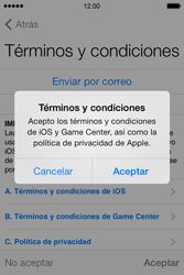 Apple iPhone 4S iOS 7 - Primeros pasos - Activar el equipo - Paso 13
