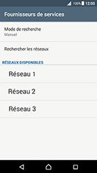 Sony Xperia X - Android Nougat - Réseau - Utilisation à l