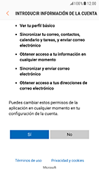 Samsung Galaxy S6 - Android Nougat - E-mail - Configurar Outlook.com - Paso 7