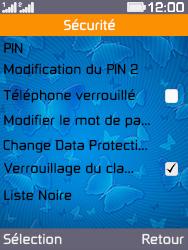 Archos F28 - Sécuriser votre mobile - Personnaliser le code PIN de votre carte SIM - Étape 5