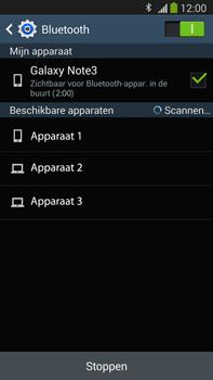 Samsung N9005 Galaxy Note III LTE - Bluetooth - Aanzetten - Stap 6