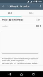Sony Xperia X Dual SIM (F5122) - Internet no telemóvel - Como ativar os dados móveis -  5