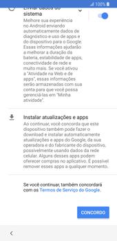 Samsung Galaxy S9 - Primeiros passos - Como ativar seu aparelho - Etapa 18