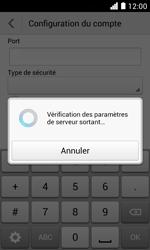Huawei Ascend Y330 - E-mail - Configuration manuelle - Étape 17