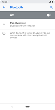 Google Pixel 3 - Bluetooth - Pair with another device - Step 7