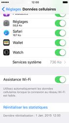 Apple iPhone 5s iOS 9 - Wi-Fi - Désactiver Assistance WiFi - Étape 5
