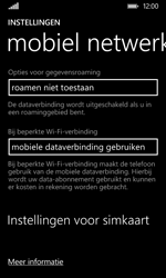 Nokia Lumia 530 - Bellen - in het buitenland - Stap 5