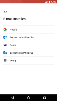 Nokia 6 (2018) - E-mail - e-mail instellen (outlook) - Stap 7