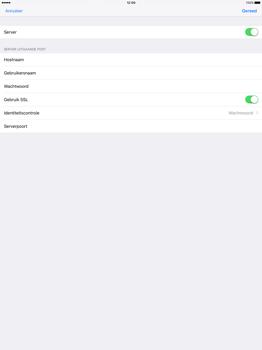 Apple iPad Pro 12.9 inch (2nd generation) - E-mail - Account instellen (POP3 met SMTP-verificatie) - Stap 19