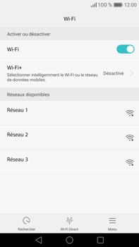 Huawei Mate 8 - Wi-Fi - Se connecter à un réseau Wi-Fi - Étape 5