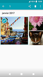 Sony Xperia XA2 - Photos, vidéos, musique - Envoyer une photo via Bluetooth - Étape 9