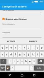 Sony Xperia M4 Aqua - E-mail - Configurar correo electrónico - Paso 17