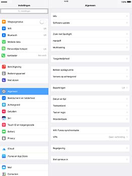 Apple iPad Pro 12.9 (1st gen) - iOS 10 - WiFi en Bluetooth - Handmatig instellen - Stap 3