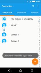 Sony E2303 Xperia M4 Aqua - Contactgegevens overzetten - delen via Bluetooth - Stap 11