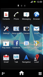 Sony ST26i Xperia J - Internet - Enable or disable - Step 3