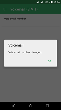 Acer Liquid Z630 - Voicemail - Manual configuration - Step 11