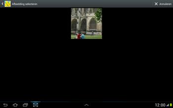 Samsung N8000 Galaxy Note 10-1 - MMS - afbeeldingen verzenden - Stap 11