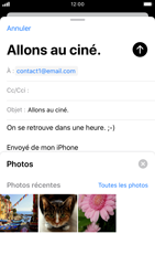 Apple iPhone 8 - iOS 13 - E-mail - envoyer un e-mail - Étape 10