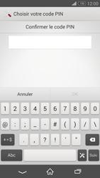 Sony Xperia Z3 Compact - Sécuriser votre mobile - Activer le code de verrouillage - Étape 9