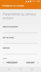 Wiko U-Feel Lite - E-mail - Configuration manuelle - Étape 15