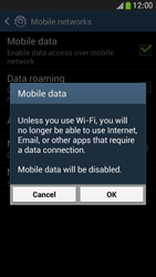 Samsung I9195 Galaxy S IV Mini LTE - Internet - Enable or disable - Step 7