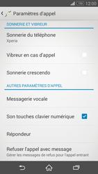 Sony D6603 Xperia Z3 - Messagerie vocale - configuration manuelle - Étape 6