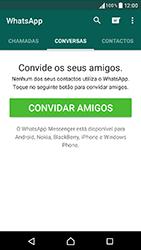 Sony Xperia XA (F3111) - Aplicações - Como configurar o WhatsApp -  15