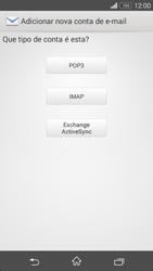 Sony Xperia M2 - Email - Configurar a conta de Email -  8