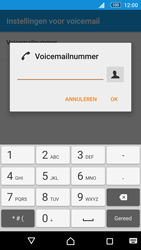 Sony Xperia M5 (E5603) - Voicemail - Handmatig instellen - Stap 9