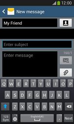 Samsung Galaxy Core Plus - Mms - Sending a picture message - Step 10