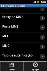 Samsung Galaxy Ace - Internet - Como configurar seu celular para navegar através de Vivo Internet - Etapa 15