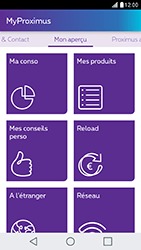 LG X Cam - Applications - MyProximus - Étape 13