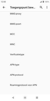 Sony xperia-xz2-h8216-android-pie - Internet - Handmatig instellen - Stap 16
