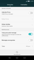 Huawei Ascend G7 - Mensajería - Configurar el equipo para mensajes de texto - Paso 6