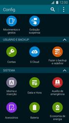 Samsung G900F Galaxy S5 - Funções básicas - Como restaurar as configurações originais do seu aparelho - Etapa 6