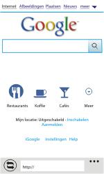 HTC C110e Radar - Internet - Internetten - Stap 4