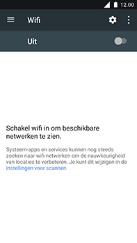 Nokia 6 - WiFi - Handmatig instellen - Stap 6