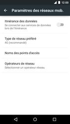 Motorola Moto E (1st Gen) (Lollipop) - Internet et connexion - Activer la 4G - Étape 8