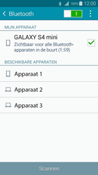 Samsung I9195i Galaxy S4 mini VE - Bluetooth - Aanzetten - Stap 6