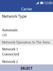 Nokia 8110 Banana - Network - Usage across the border - Step 11