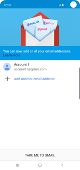 Samsung Galaxy S10 - E-mail - Manual configuration (gmail) - Step 14
